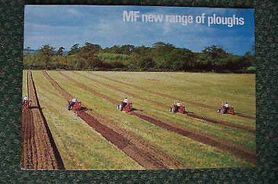 Massey Ferguson New Range Of Ploughs Sales Brochure