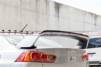 Mitsubishi 07-16 Lancer/EVO X SE Gurney Flap For EVO X Spoiler (ABS+Satin Black)