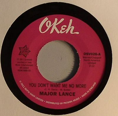 "LANCE, Major - You Don't Want Me No More - Vinyl (7"")"