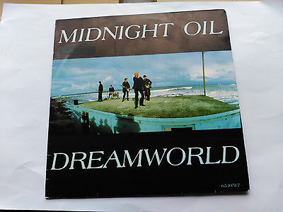 Promo Single Sided Midnight Oil - Dreamworld - Cbs Spain 1988 Vg+