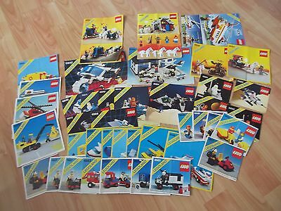 39 x Lego Legoland Instruction booklets - all different books