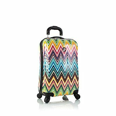 Heys USA xcase Herringbone 4wheel Spinner Carry On Suitcase Hand Luggage 56cm