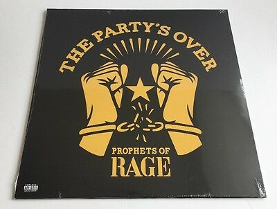 Prophets of Rage The Party's Over Vinyl New/Sealed