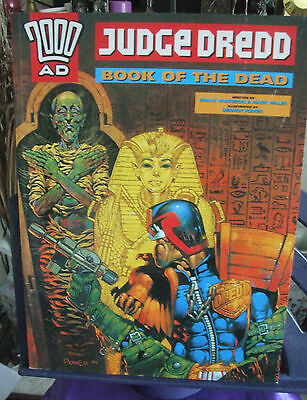 2000 AD Judge Dread Graphic Novel Book of the Dead 1996