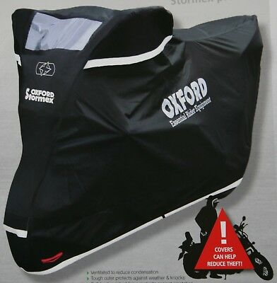 Oxford Stormex All Weather Bike Cover size XL XLarge CV333 NEW