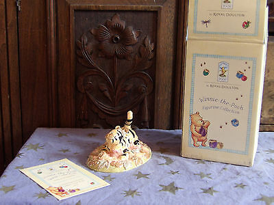 Royal Doulton winnie the pooh, Sometimes Autumn Tickles Your Nose, Tigger, Boxed
