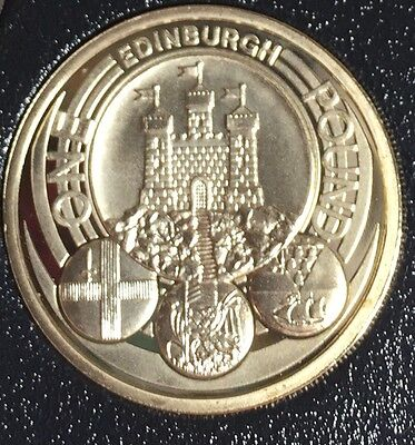 2011 Edinburgh City Royal Mint Proof One Pound £1 Coin