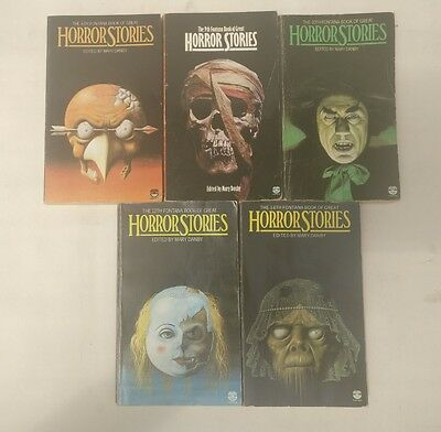 x5 Fontana Books of Great Horror Stories edited by Mary Danby - 4 x 1st editions