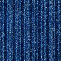 Marine/outdoor Carpet- Blue ribbed. All outdoor use,Boat,garage,pool, 2 mtr wide