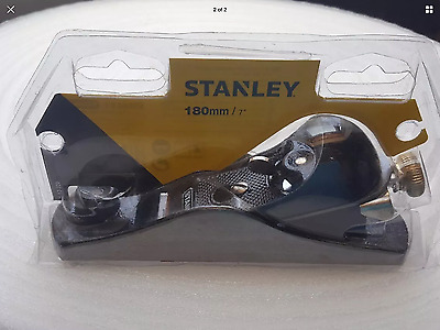 "Stanley Block Plane 180mm 7"" RRP £40 FREE POSTAGE"