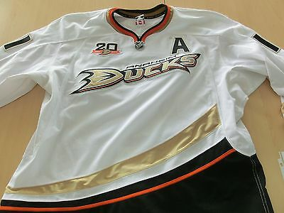Nhl Game Worn Trikot Saku Koivu 2013/14 Anaheim Ducks