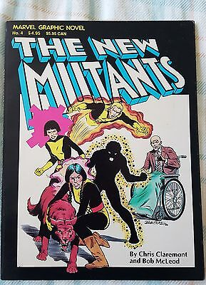 Marvel Graphic Novel #4 The New Mutants 1st appearance