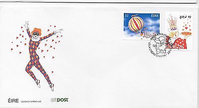 Ireland, FDC 1993  love stamps