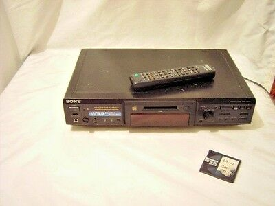 Sony Mini Disc Deck Model MDS-JE640 with Remote Control