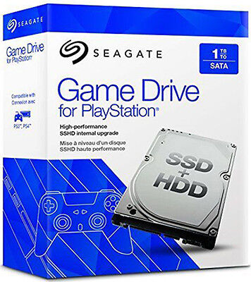 """Seagate SSHD 1 Tb/To Sata 2,5"""" Game Drive Playstation PS3 PS4 Comme Neuf"""