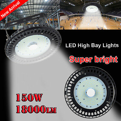 LED 150W High Bay Light Warehouse Industrial Factory Commercial Lamp UFO IP65 AU