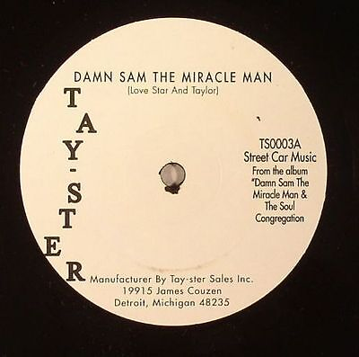 """DAMN SAM THE MIRACLE MAN/THE SOUL CONGREGATION - Damn Sam The Miracle Man - 7"""""""