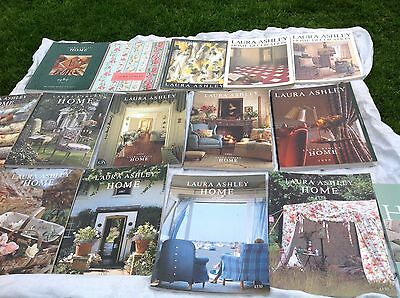 Vintage Laura Ashley Catalogues 16 Magazines Books, Interior Design 1980s - 2000