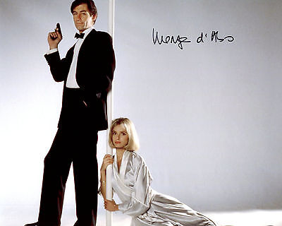 Maryam d'Abo - Kara Milovy - The Living Daylights - Signed Autograph REPRINT