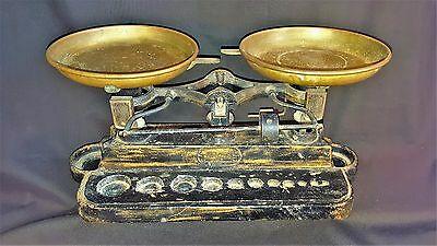 Early Art Deco Ohaus Antique Balance Scale Drug Store Scientific Apothecary Asis