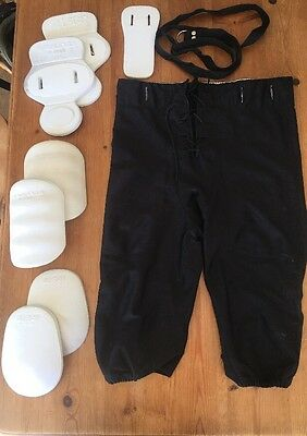 American Football Game PantS Inc Thigh Knee And Hip Guards And Belt -  Medium