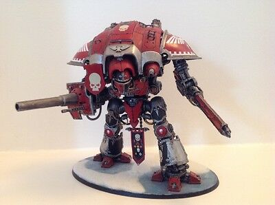 Warhammer 40k very well painted Imperial Knight Paladin