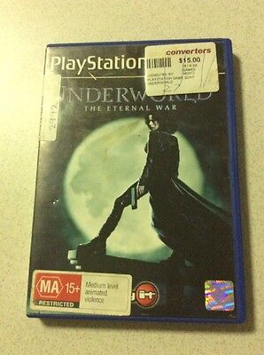 Underworld Sony PlayStation 2 Console Game PAL PS2