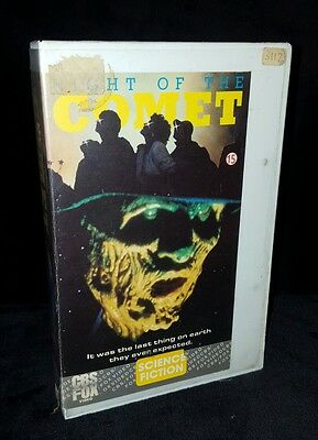 NIGHT OF THE COMET CBS FOX PRE CERT INTEREST cult Horror VHS Video Zombie 1984
