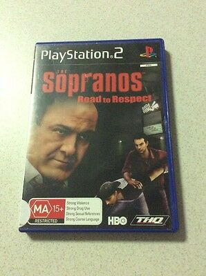 Sopranos Sony PlayStation 2 Console Game PAL PS2