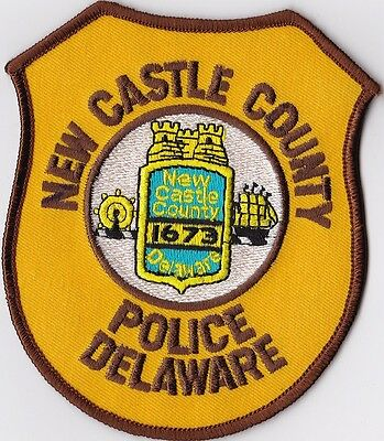 New Castle County  Police Patch Delaware DE NEW!!