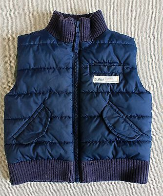 Country Road 6-12 Months Boys Navy Vest