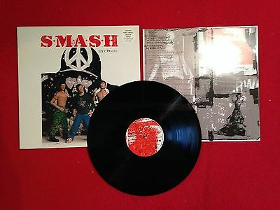 "SMASH SELF ABUSE STUNNING ultra rare  NR MINT A1B1 VINYL LP INSERTS & 7"" SINGLE"