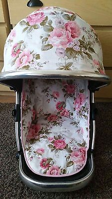 iCandy Peach Jogger Hood Cover And Zip In Liner