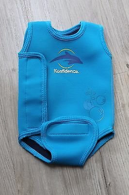 Konfidence blue babywarma / wetsuit 0 to 6 months