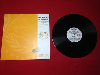 "Terrorize It's Just A Feeling - The Remix Project 12"" Hamster Records 1992"