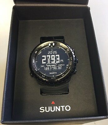 Suunto Core All Black Outdoor Sportuhr