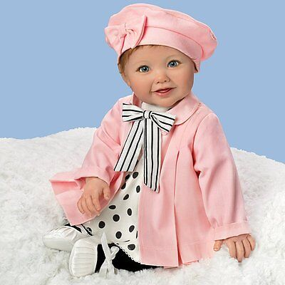 Ashton Drake - MADELEINE Baby Doll Speaks English And French by Ping Lau