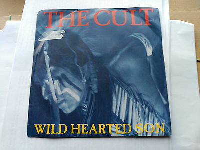 Single The Cult - Wild Hearted Son - Virgin Europe 1991 Vg/vg+