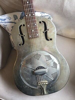 Michael Messer Blues resonator guitar - serial number 001 signed prototype!