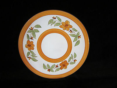 """Stangl Pottery Bittersweet Salad/Dessert Plate 8"""" Dura Fired Very Good/Excellent"""