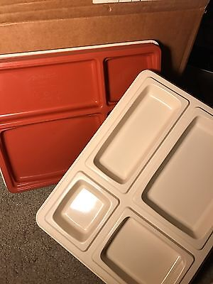 Set of 10 NEW Aladdin Temp-Rite Insulated Stacking Serving Trays