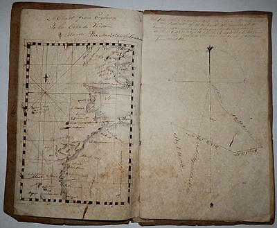 Deck Officer's Navigational Ciphering Book - Circa 1830