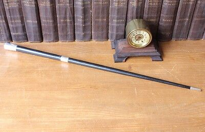 Antique Silver & Ebony Conductor Baton Richmond Rd Baptist Church Cwmbran 1928