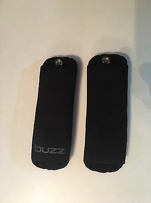 Quinny Buzz 3/4 Shoulder Pads Black NEW STYLE