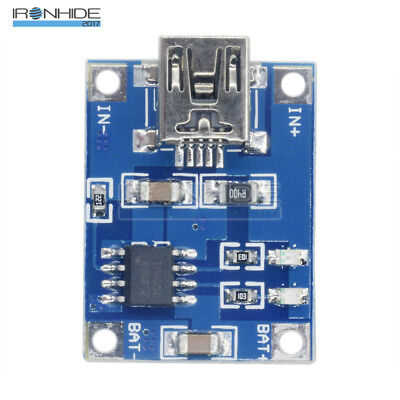 2PCS DC 5V Mini USB 1A 18650 Lithium Battery Charging Board Charger Module