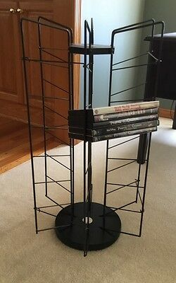 """21 Slot Rotating Dvd Video Store Spinner Rack Retail Display Holds 105 26"""" X 15"""""""