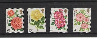 Royal National Rose Society 1976 Set Of British Post Offic Mint Stamps Free P&p
