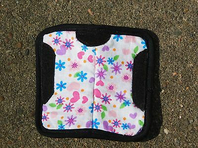 Custom Contoured Saddle Pad - Breyer/model horse- Traditional - Flowers