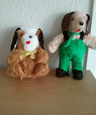 2 New Soft Toy Dogs