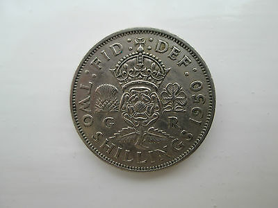 1950 George VI Florin / Two Shillings Coin